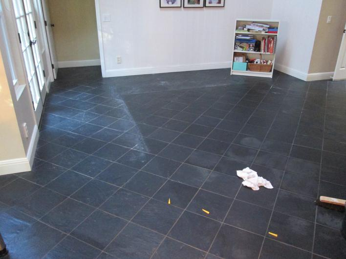 TILE REFINISHING PROJECT SAN DIEGO SLATE TILES