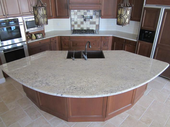 Photo of granite countertop installation san diego